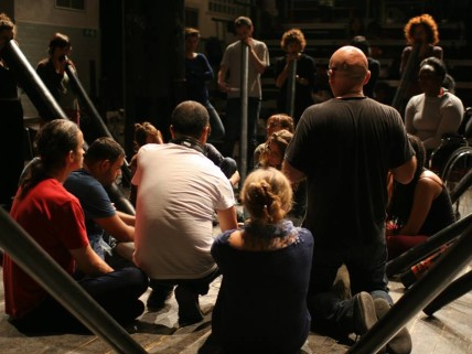 Theater workshops, Milan, fot. Tomasz Gromadka