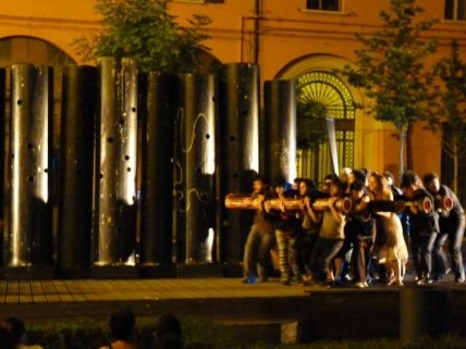 """The City Ghettos of Today"", Bologna June 24th - July 6th, 2014"