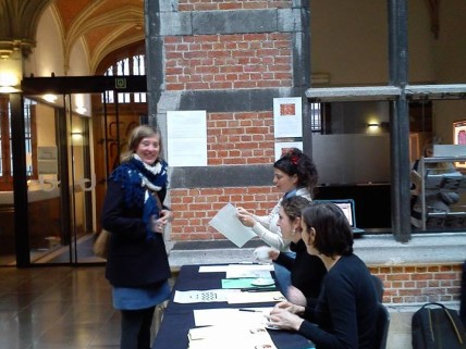 Debate in University of Antwerp