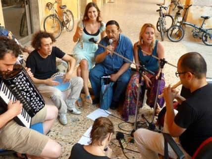 Workshops in Palazzo d'Accursio, photo: Karen Boselli
